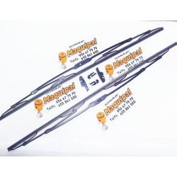 ESCOBILLA METALICA 65 CM BLISTER 2 UDS